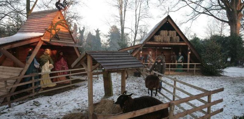 Opening kerststal, aanvang 16.45 uur